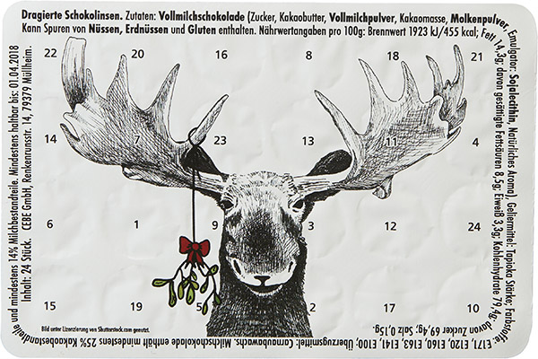 Rentier & Mistelzweig W021