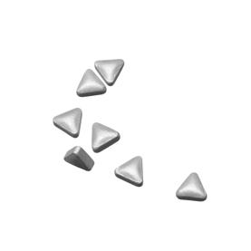 pastilles triangulaires à la menthe argentées, DLUO env. 18 mois