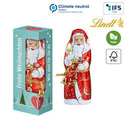Père Noël de Lindt & Sprüngli dans une boîte cadeau