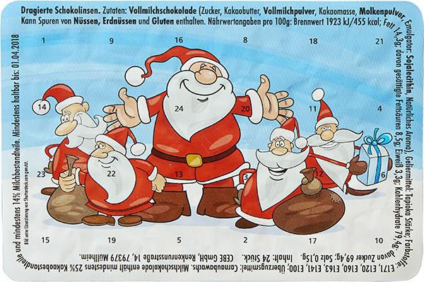 Sympathische Weihnachtsmänner W025