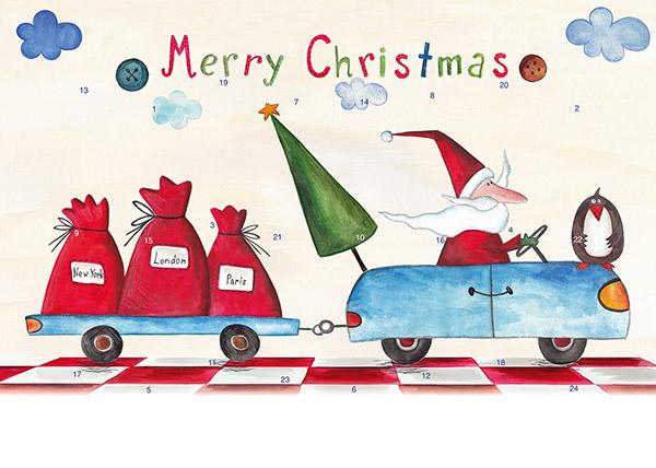 Weihnachtsmann on Tour M051