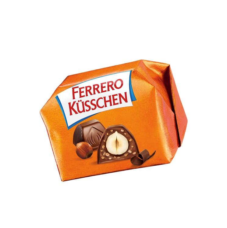 Küsschen de Ferrero classique, DLUO env. 3 mois