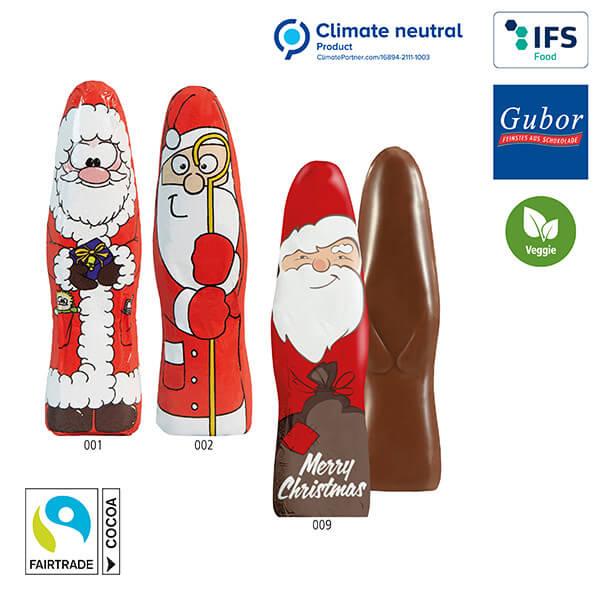 MINI Schoki-Weihnachtsmännchen Standardmotive