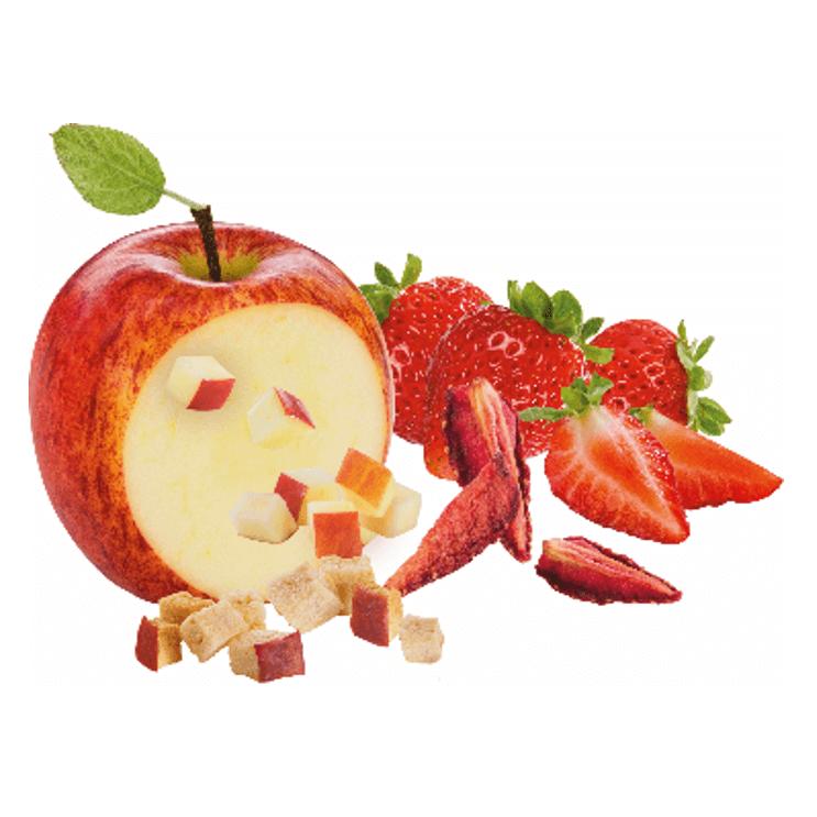Mélange de fruits séchés (pomme & et fraise)
