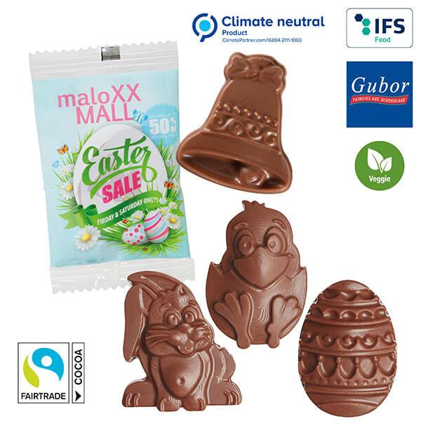 "Figurines en chocolat ""Pâques"""