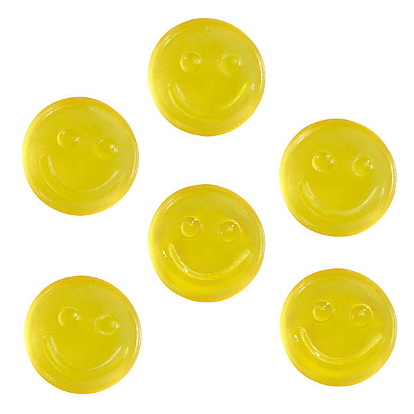 Smile gum (only yellow fruit gum)