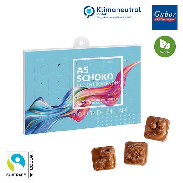 A5-Schoko-Adventskalender