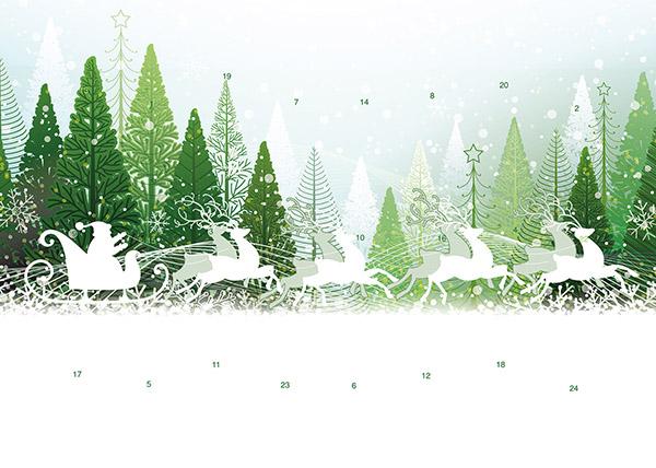 Weihnachtsschlitten M046