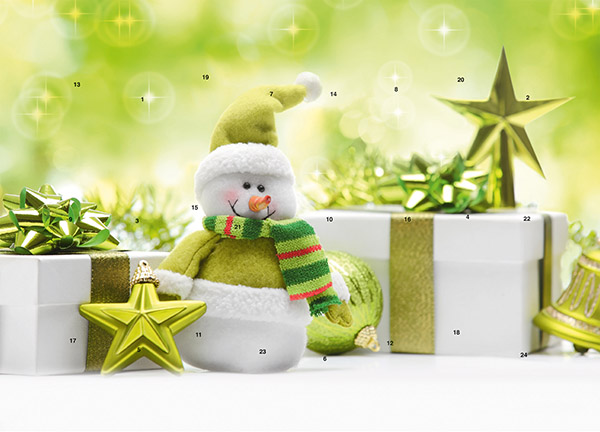 Gifts, green M040