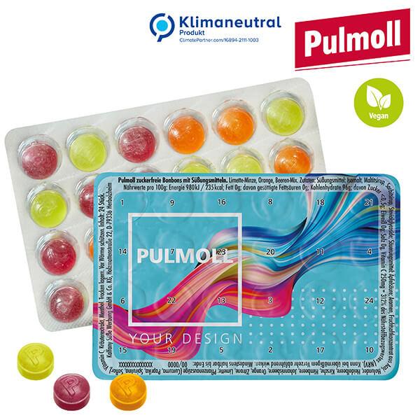 Le plus petit calendrier de l'avent du monde avec pastilles Pulmoll