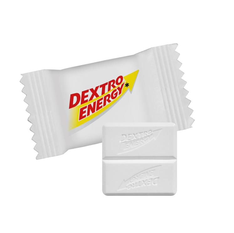 DEXTRO ENERGY Traubenzucker im Standarddesign, ca. 9 Monate haltbar, Inhalt: 30 Stück