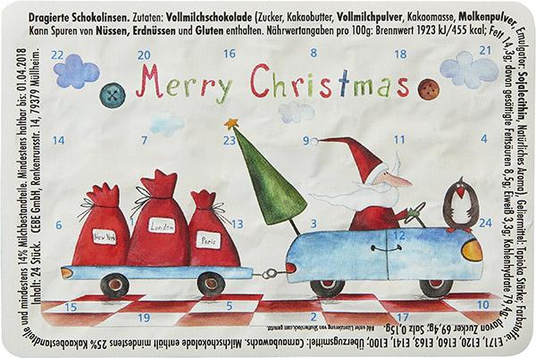 Weihnachtsmann on Tour W019