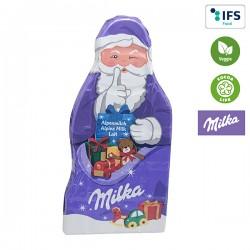 Tablette de chocolat du Père Noël de Milka – produit seul