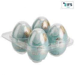 Boîte au carré d'œufs sans banderole