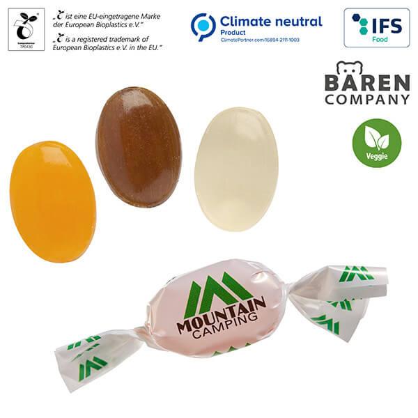 Spezialitäten Bonbons im Werbewickel ab 500 kg