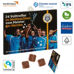 Football Chocolate Advent Calendar BUSINESS