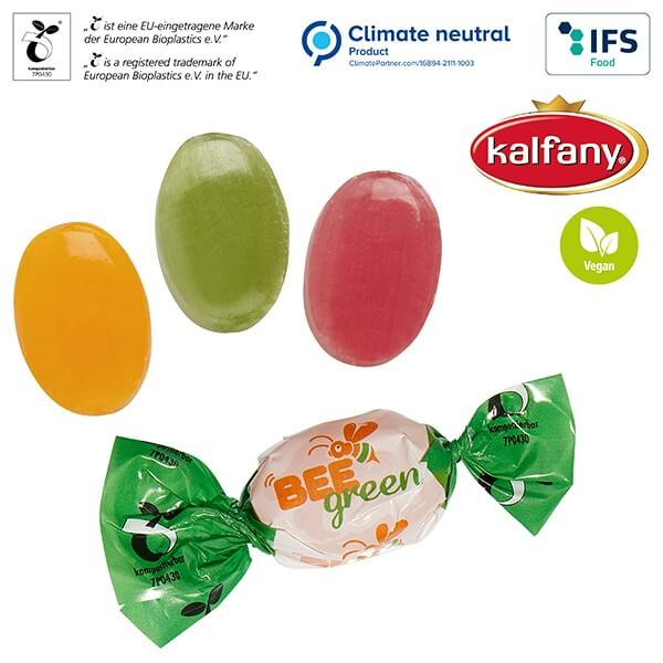 Bonbons en papillote compostable