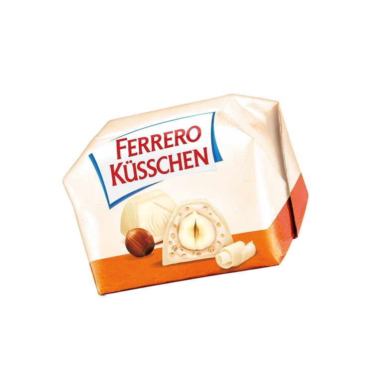 Ferrero Küsschen white, best before 3 months